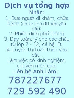 Anh Lâm đt 787 227 667